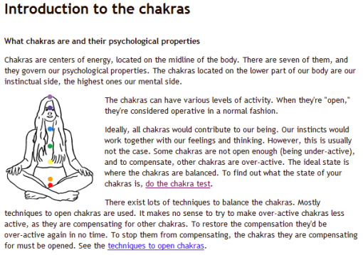 My Chakra Test | Who? Not Me! You? | w?NM!y? - The Earthling becomes